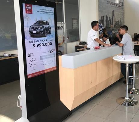 DigitalSign Nissan